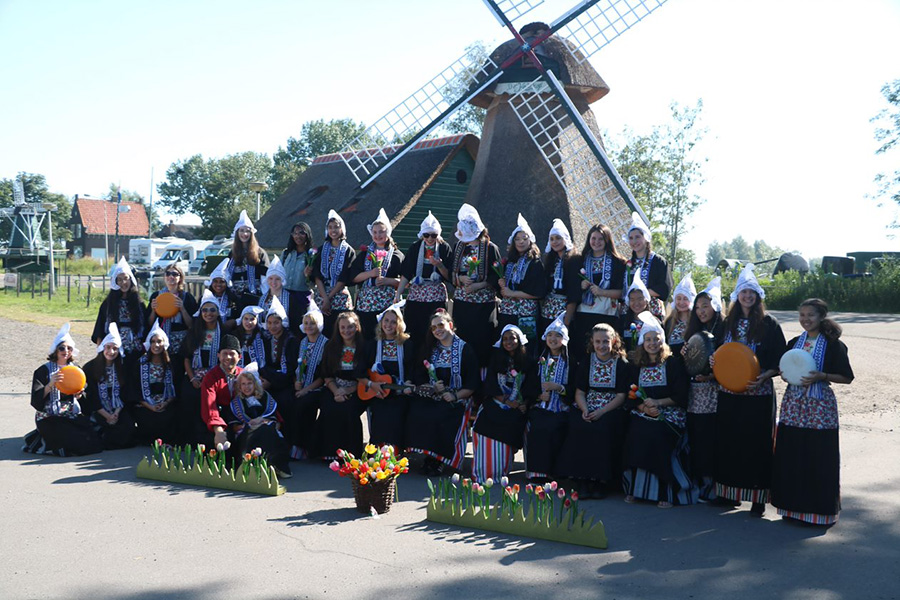 Touring the Netherlands