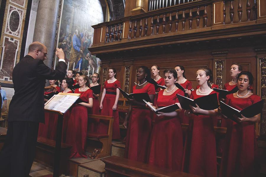 The Choir in Italy